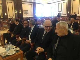 موسى مصطفى موسى يشارك فى تشييع جنازة الرئيس مبارك ويعزى نجليه