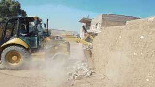 إزالة 26 حالة تعد على الأراضي الزراعية في ثاني أيام عيد الفطر