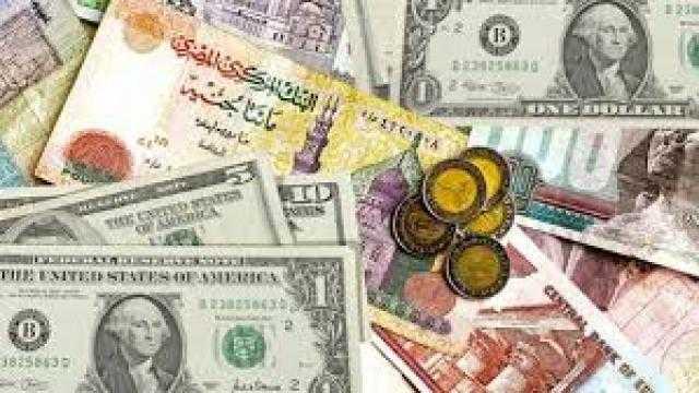 سعر الدولار مقابل الجنيه المصرى فى البنوك