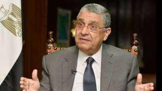 وزير الكهرباء ينعى فقيد الوطن محمد العصار