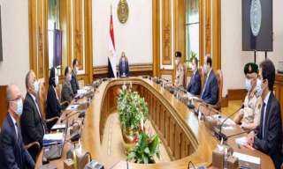الرئيس يبحث مع الحكومة تأثير ازمة كورونا على الأقتصاد المصرى