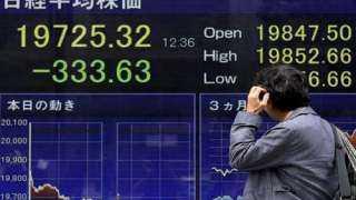 تباين مؤشرات الأسهم الآسيوية في ختام تعاملات اليوم