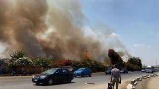 «التحريات»: ارتفاع درجة الحرارة وراء حريق الرماية