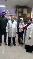إنقاذ مولود من عيب خلقي خطير بالقلب بمستشفى أطفال مصر