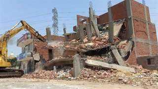 إحالة المسئولين عن إزالة مبنى مرخص بالشرقية للنيابة