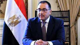 رئيس الوزراء يشهد صب الدور 45  Lمن «البرج الأيقونى» بالعاصمة الإدارية