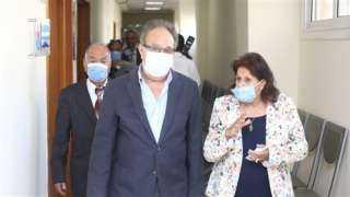 إطلاق اسم الشهيد محمد أشرف على مدرج بمستشفى سعاد كفافى الجامعى