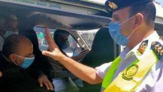 ضبط 1557 سائق نقل جماعى لعدم ارتداء الكمامات