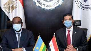 رئيس هيئة الاستثمار يبحث مع سفير رواندا سبل التعاون بين البلدين