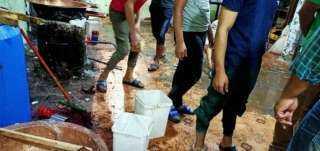 غلق مصنعين حلويات للمولد النبوي في الزقازيق