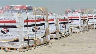بتوجيهات الرئيس.. مصر ترسل مساعدات عاجلة لجمهورية العراق