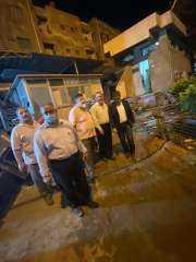 السيطرة علي حريق محدود بمستشفى الطوارئ الجامعى بطنطا