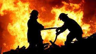 حريق فى عقار ببولاق الدكرور