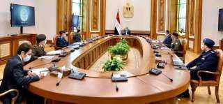 """الرئيس يتابع المشروع القومي """"مستقبل مصر"""""""