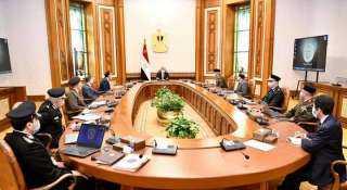 """الرئيس يطلع على """"تطوير منشآت وزارة الداخلية على مستوى الجمهورية"""""""