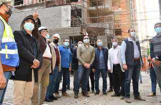 وزير الإسكان يتفقد مشروع تطوير «مثلت ماسبيرو»