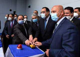 """رئيس الوزراء يشهد وصول ماكينة الحفر العميق الى محطة """"الكيت كات"""" بالمرحلة الثالثة من الخط الثالث لمترو الأنفاق"""