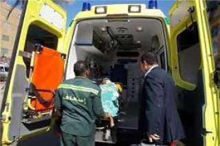 مصرع طفل صدمته سيارة طائشة فى ابوحماد بالشرقية