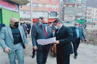 محافظ القاهرة: محور مسطرد يعمل على مساحة كبيرة للمرور
