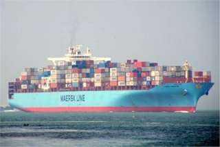 طولها 300 متر.. وصول أكبر سفينة بضائع لميناء الإسكندرية
