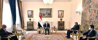 الرئيس يؤكد : أمن واستقرار السودان يُعد جزءاً لا يتجزأ من أمن واستقرار مصر.
