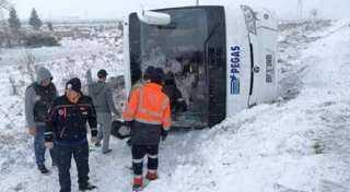مصرع سائح روسي وإصابة 26 آخرين في تركيا