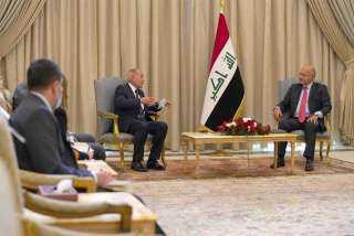 الرئيس العراقي لأبو الغيط: استقرار العراق عنصر لاغنى عنه لأمن كل المنطقة