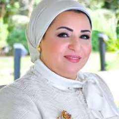 السيدة انتصار السيسى تهنيء الشعب المصرى بشهر رمضان