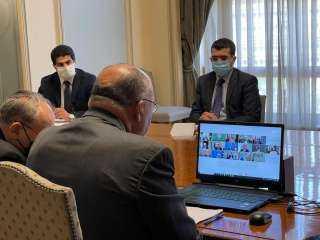 نص كلمة وزير الخارجية فى الإجتماع الطاريء لجامعة الدول العربية