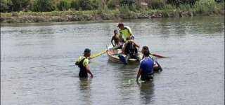 غرق شقيقين بمياة بحر ابو الأخضر بالشرقية  لتسلقهما شجرة التوت