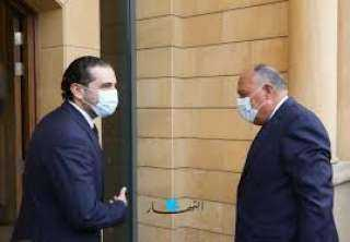 تفاصيل اتصال وزير الخارجية بسعد الحريرى حول الوضع فى لبنان وفلسطين المحتلة