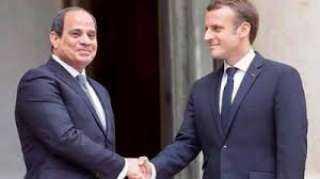 اليوم...قمة مصرية فرنسية فى باريس بين السيسى وماكرون