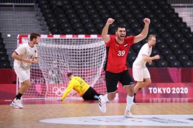مصر تكتسح المانيا فى كرة اليد وتواجه فرنسا بعد غد الخميس