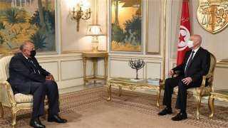 الرئيس التونسي يؤكد حرصه على استمرار التنسيق مع مصر.. ويشكر وقفتها التضامنية