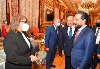 رئيس مجلس الشيوخ يستقبل رئيس مجلس النواب العراقي