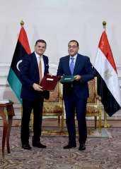 اللجنة العليا المصرية – الليبية المشتركة تختتم أعمالها بتوقيع ١٤ مذكرة تفاهم مشترك