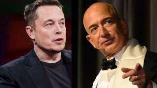 4 مليارات دولار تفصل ماسك عن بيزوس.. اشتعال سباق أثرياء العالم