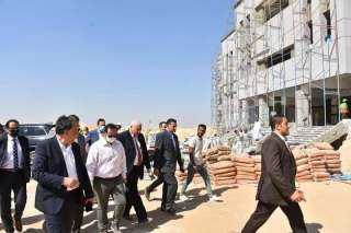 جامعة مدينة السادات تنفذ مشروعات بتكلفة 2 مليار و821 مليون جنيه