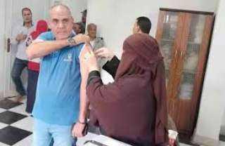 استمرار تطعيم العاملين بمترو الأنفاق بلقاح كورونا