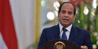 السيسى يؤكد رفض مصر واليونان وقبرص المساس بوحدة سوريا
